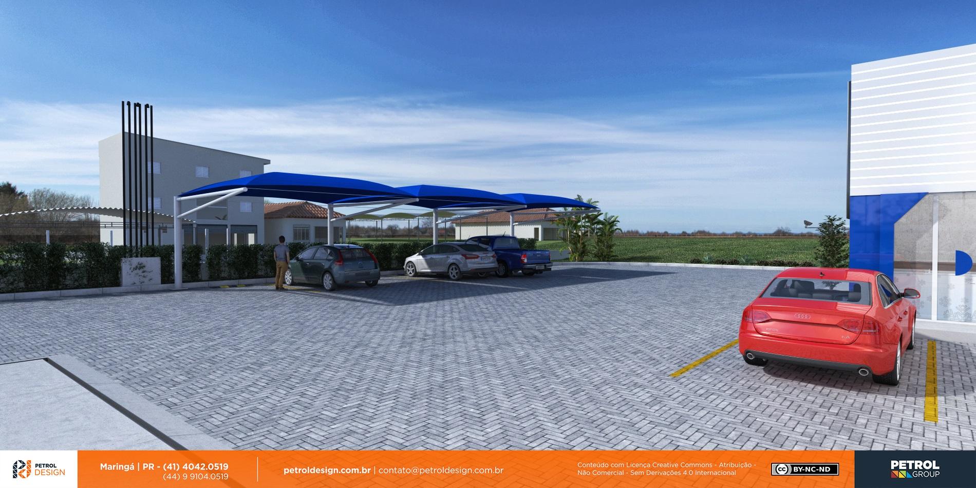 logo de posto de gasolina Pomerode - SC