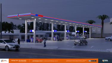 manual de identidadevisual posto de gasolina Ibirite MG