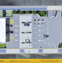 planta posto de gasolina Cuiabá MT