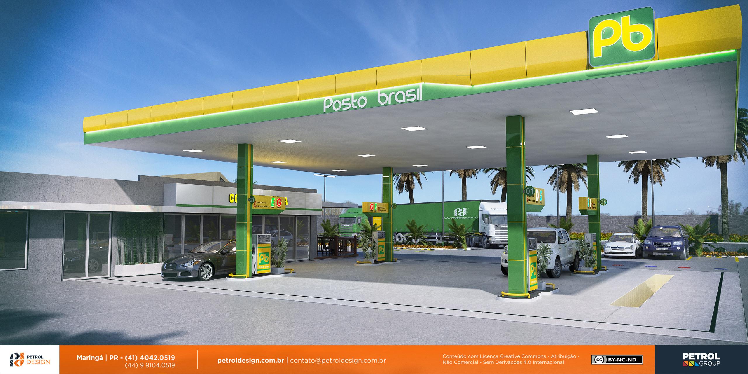 imagem de abastecimento posto de combustivel futurista Sorocaba PR