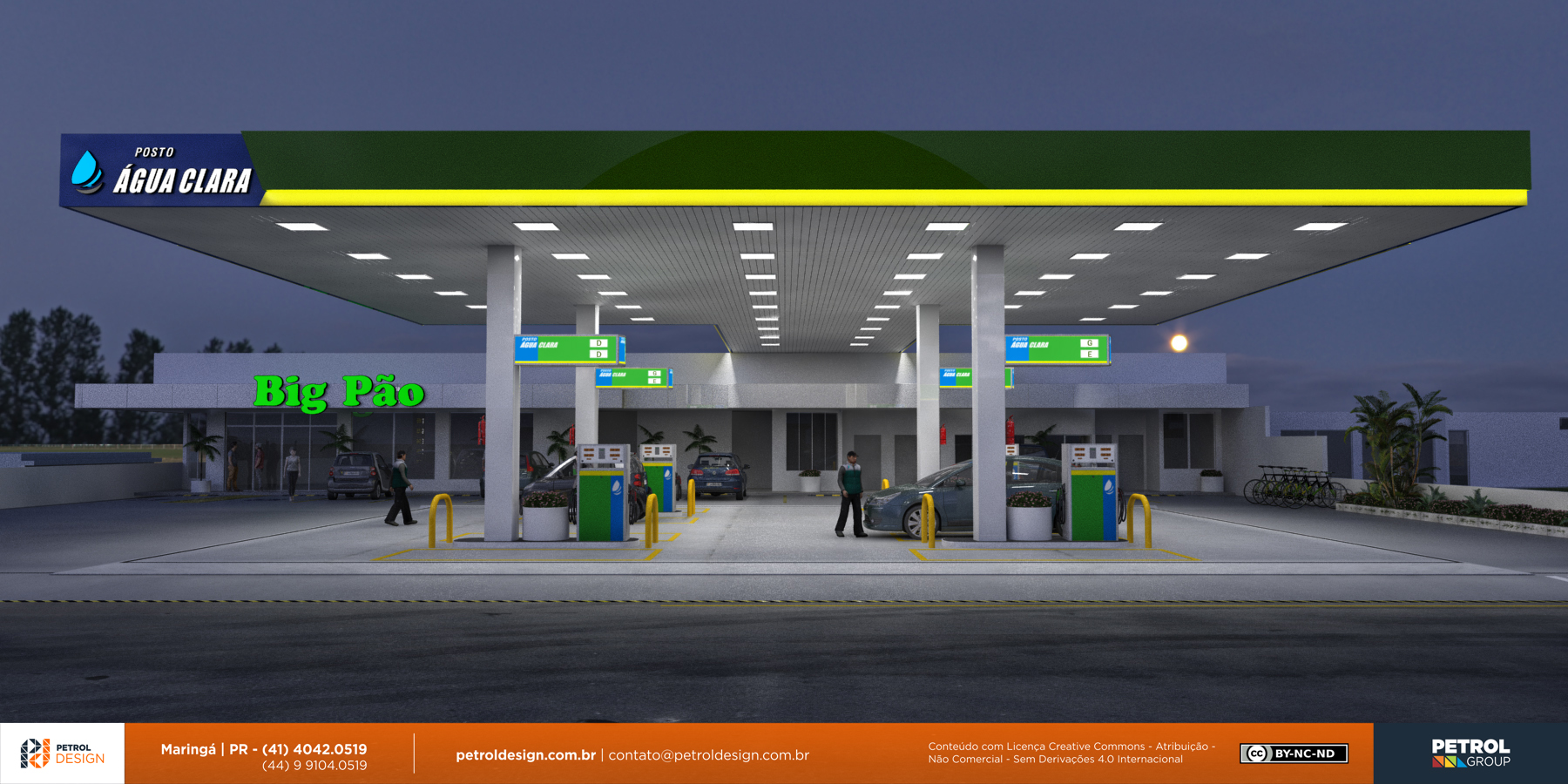 projeto postoabastecimento gasolina Montes Carlos MG