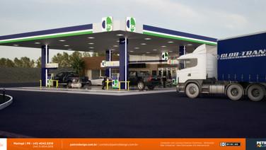 comunicação visual para posto de gasolina Bom Sucesso PR