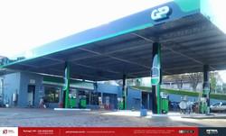 Fachada para posto de gasolina
