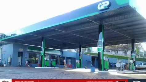 fachada para posto de gasolina Porto Alegre RS