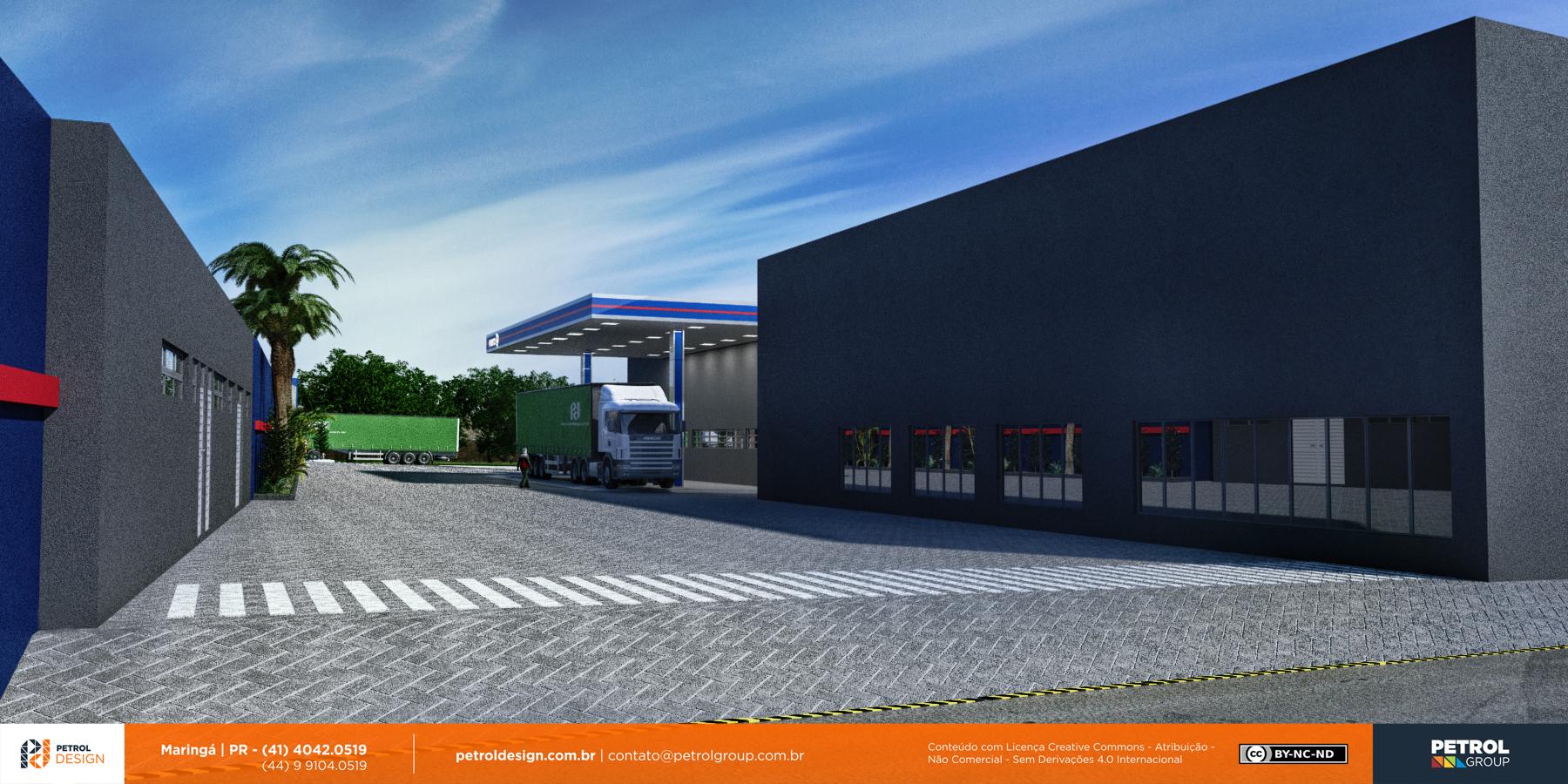 design comunicação visual posto de combustivel Santo André