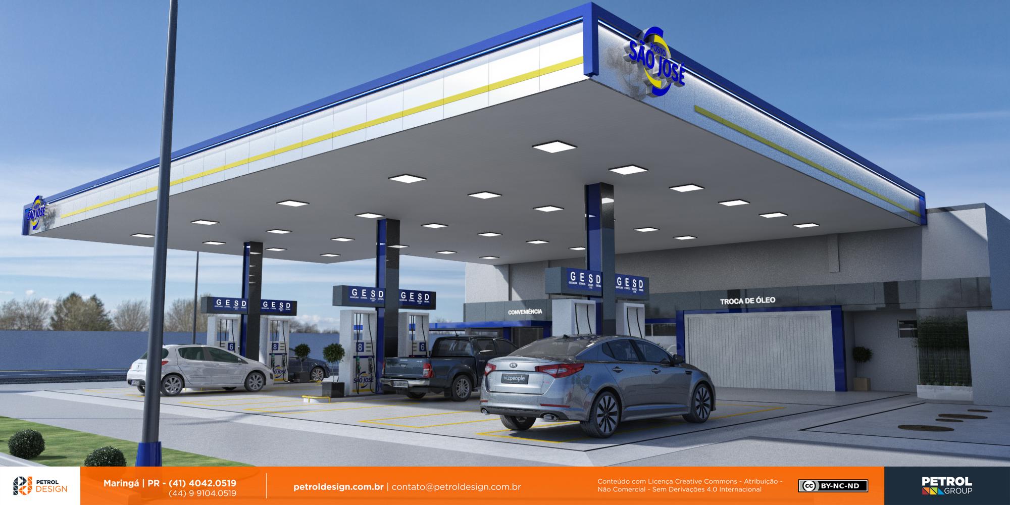 imagens de posto de combustivel Encruzilhada do Sul RS