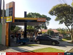Imagem de posto de gasolina bandeira