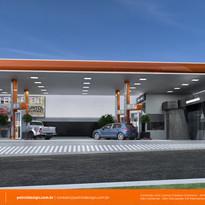 layout de posto de gasolina Erechim RS.j