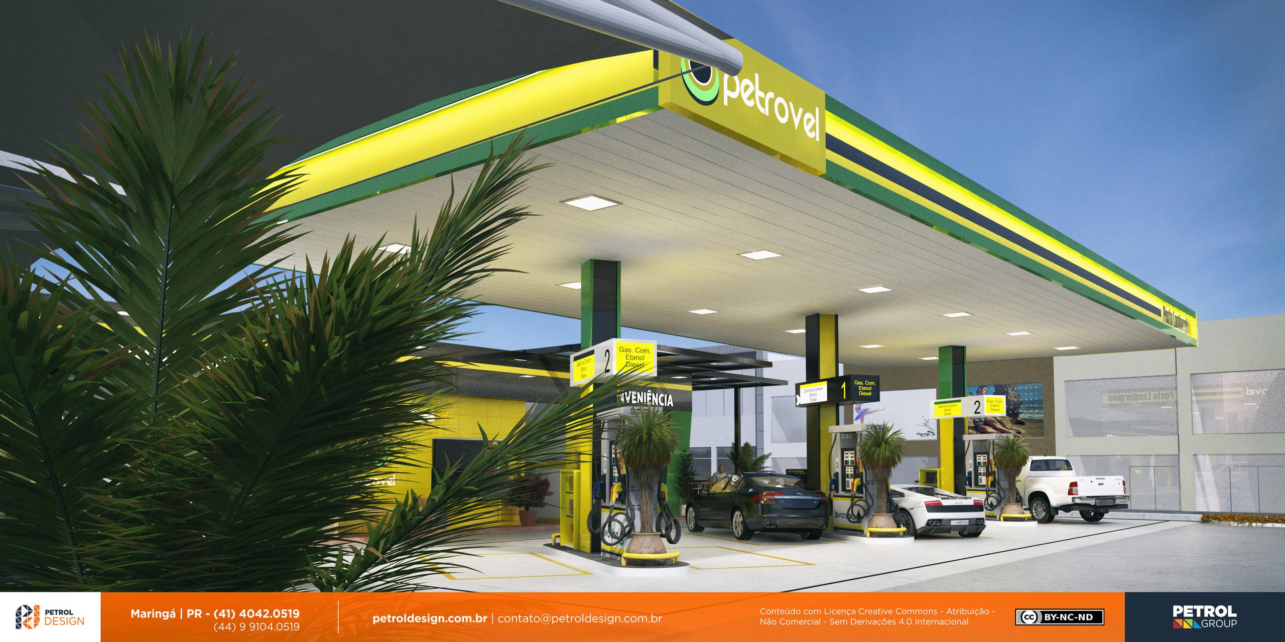 design comunicação visual posto de combustivel Divinopolis MG