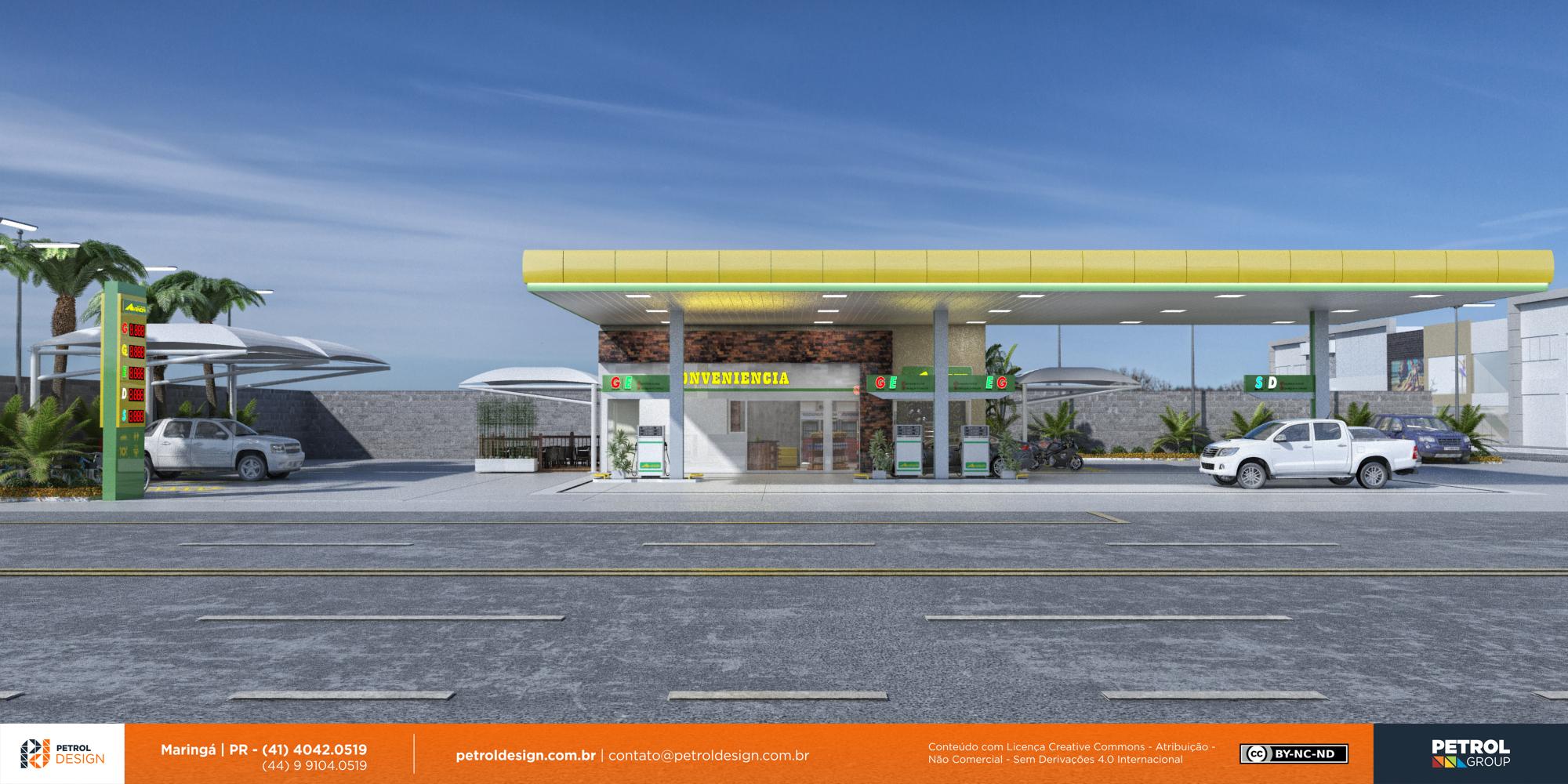 logo de posto de gasolina Jau SP