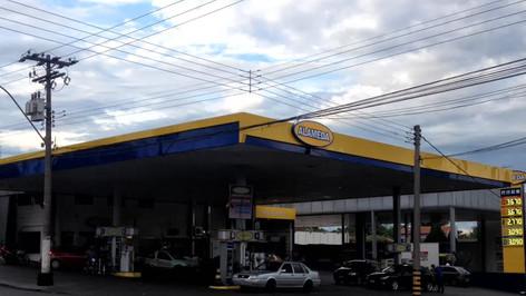 fachada posto de combustivel Belém PA