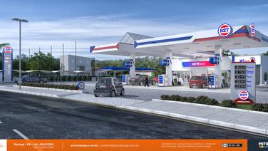 comunicação visual para posto de combustivel Pomerode - SC