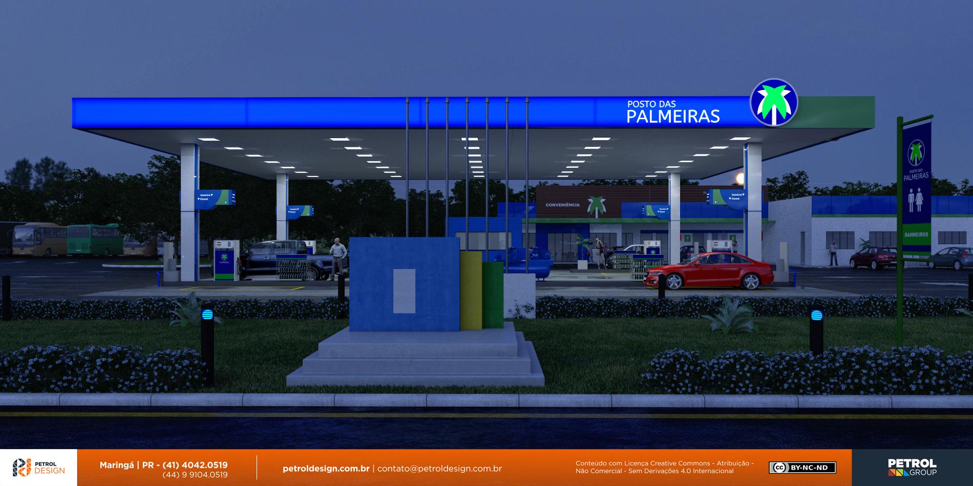 projeto posto de gasolina Morrinhos GO