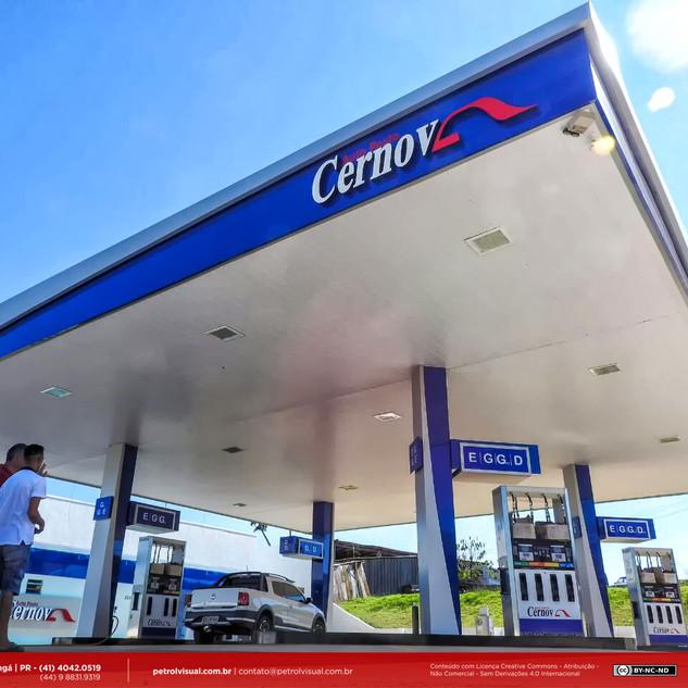 Reforma em posto de combustível