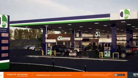 identidade visualpdf posto de gasolina Ponta Grossa PR