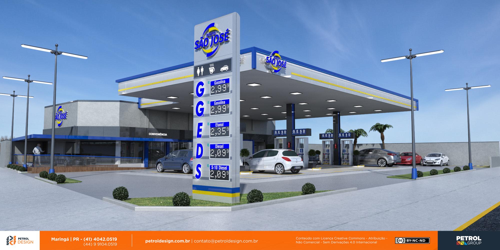 imagem posto de gasolina Dom Pedrito RS