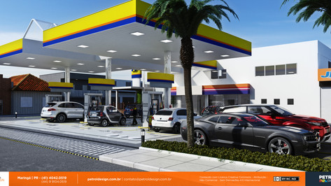 reforma de posto de combustivel sp Itaperaba BA