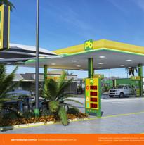 layout posto de combustivel Bebedouro SP
