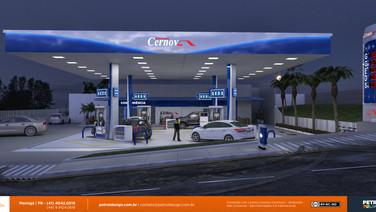 imagem de fachada posto de gasolina em Porto Velho - RO