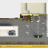 layout de postos de combustíveis Porto Alegre RS