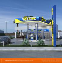 Identidade Visual de Posto de Combustíveis em Roraima