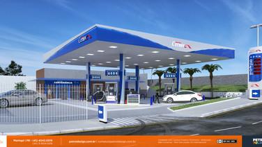 imagem posto de gasolina - Cernov II