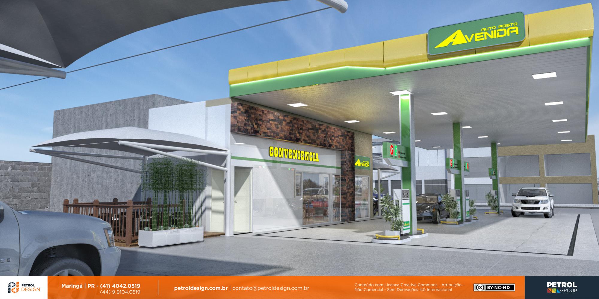 logo marca profissional posto de gasolina Botucatu SP