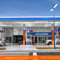 nome de posto de gasolina Ribeirao das Neves MG