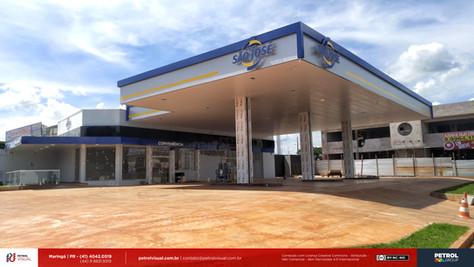 fachada posto de gasolina Goiânia GO