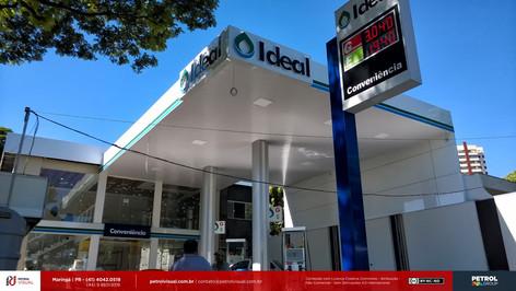 reforma posto de gasolina Joinville SC