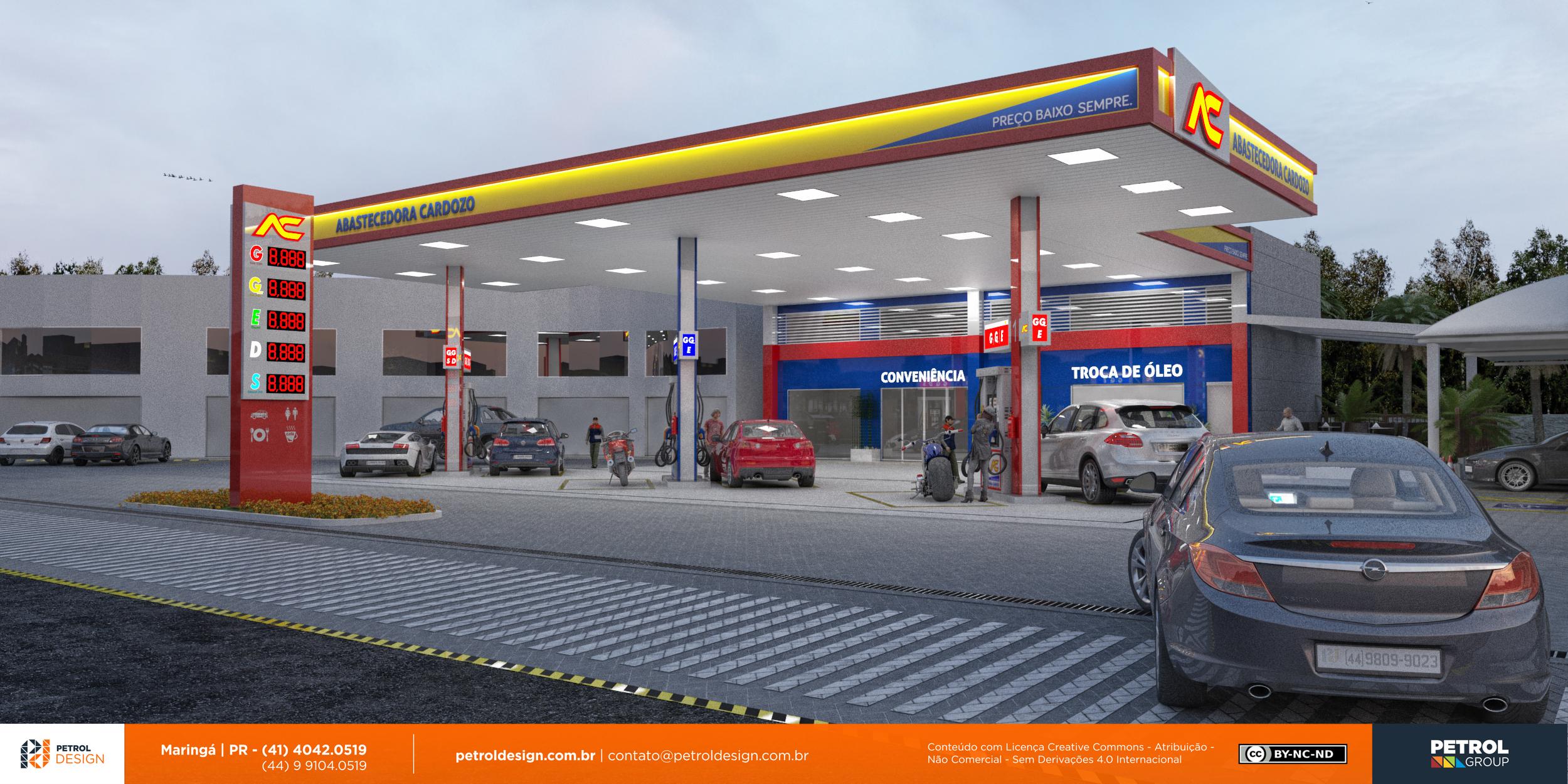 agencia de comunicação visual posto de combustivel Pelotas - RS