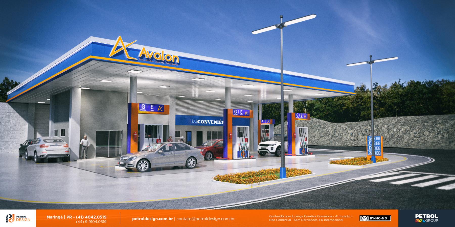 posto de gasolina logo Itajuba MG