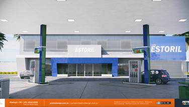 reforma posto de combustivel Nova Andradina MS