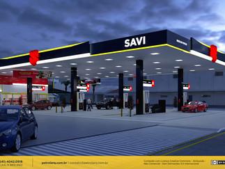 Projeto de arquitetura de posto de gasolina