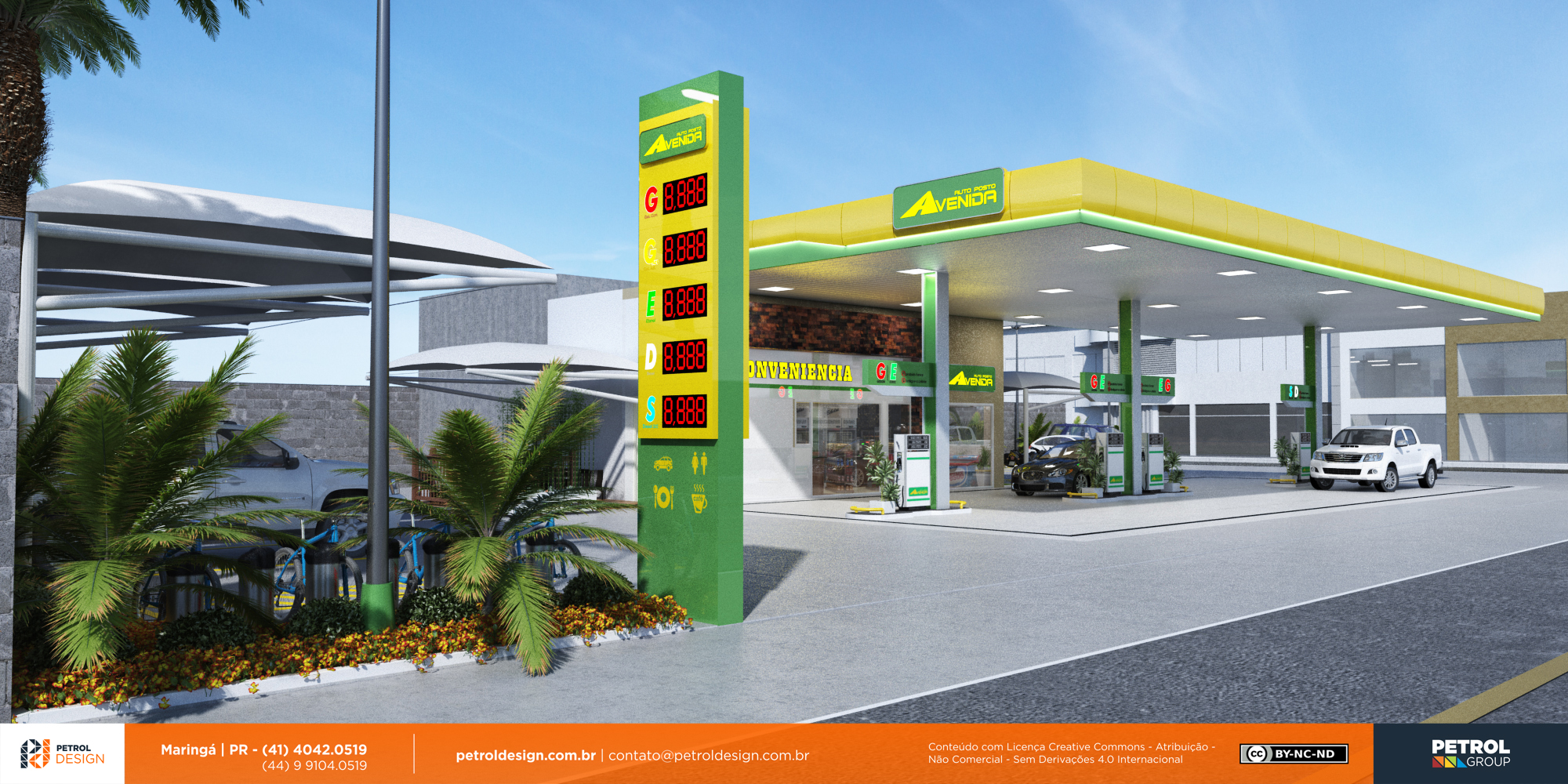 logo posto de gasolina Presidente Prudente SP