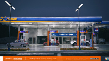 manual identidade visual posto de gasolina Sete Lagoas MG