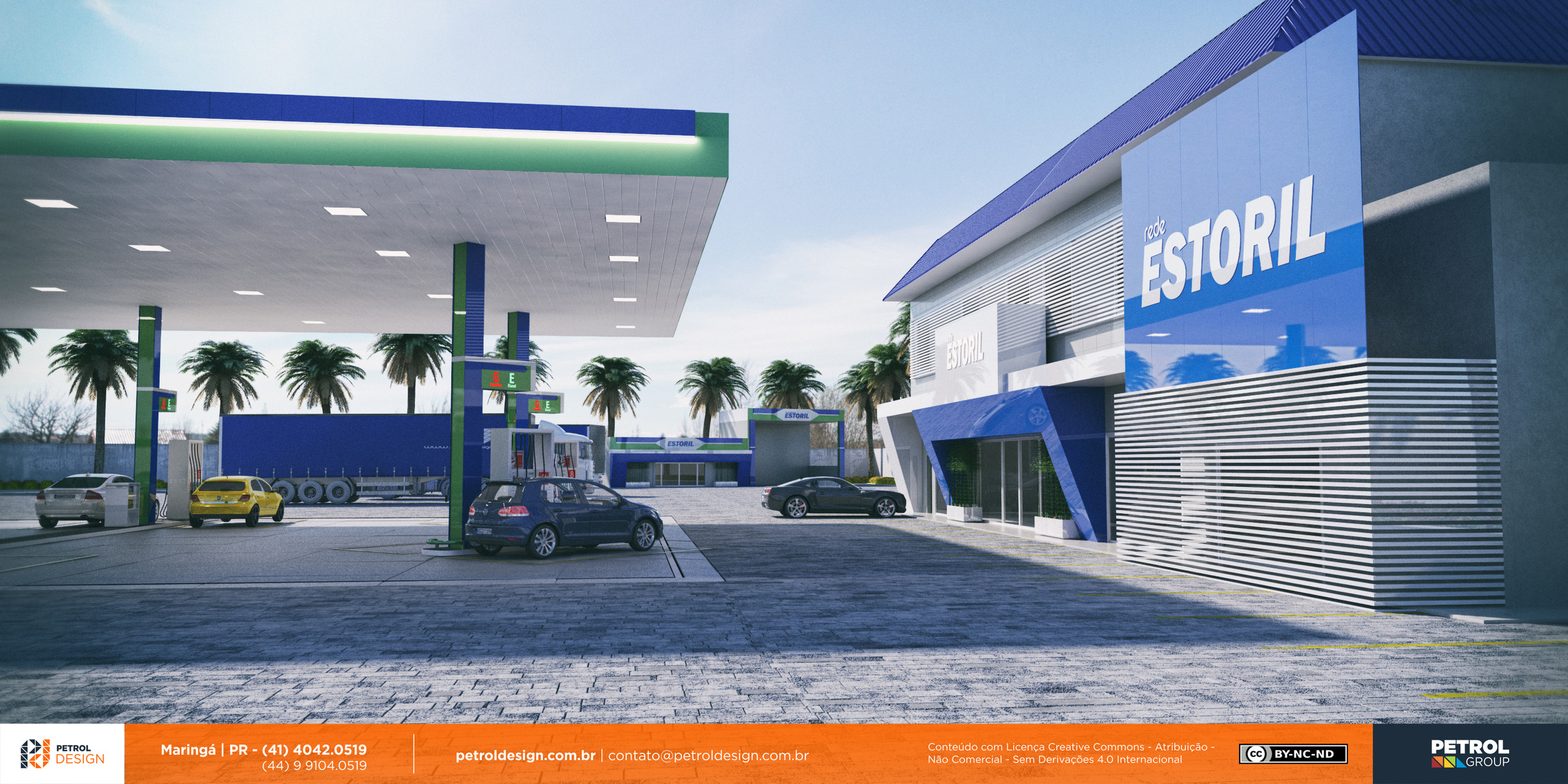 reforma em posto de gasolina Bodoquena MS