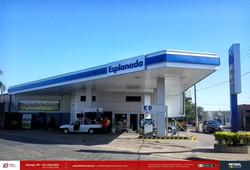 comunicação visual posto de gasolina