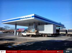 comunicação visual de posto gasolina