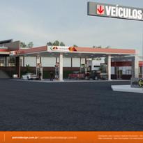 projeto de identidade visual posto de gasolina Curitiba PR