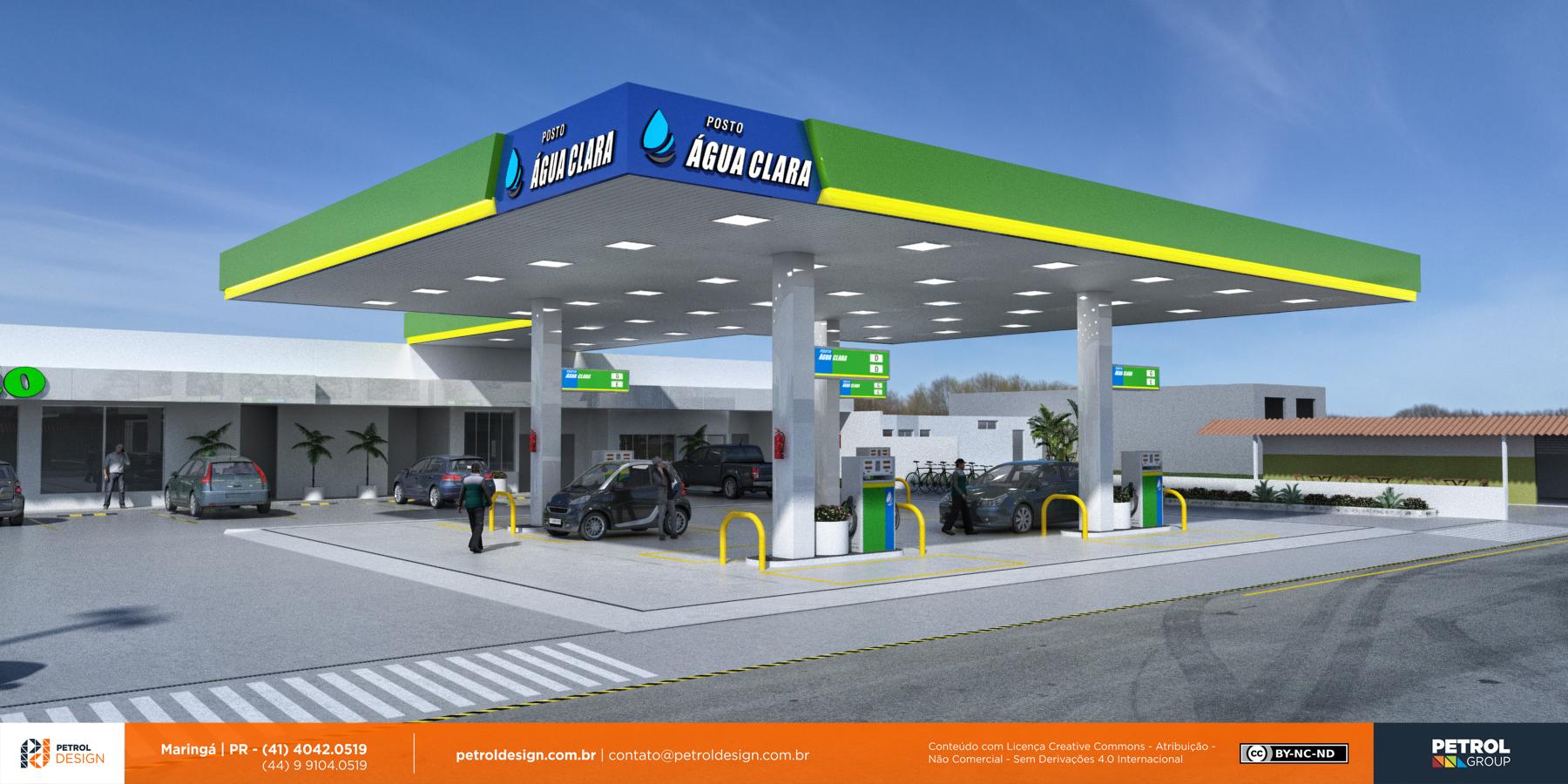 projeto para montar um posto de gasolina Ipatinga MG