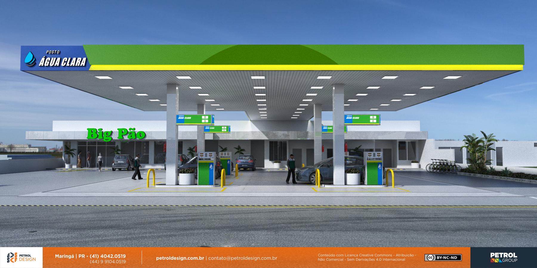 projeto para montar um posto gasolina Betim MG
