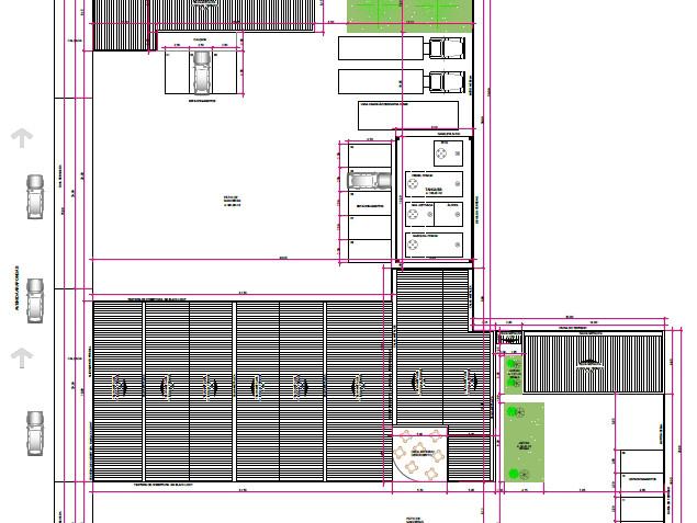 Projeto arquitetonico de coberturas