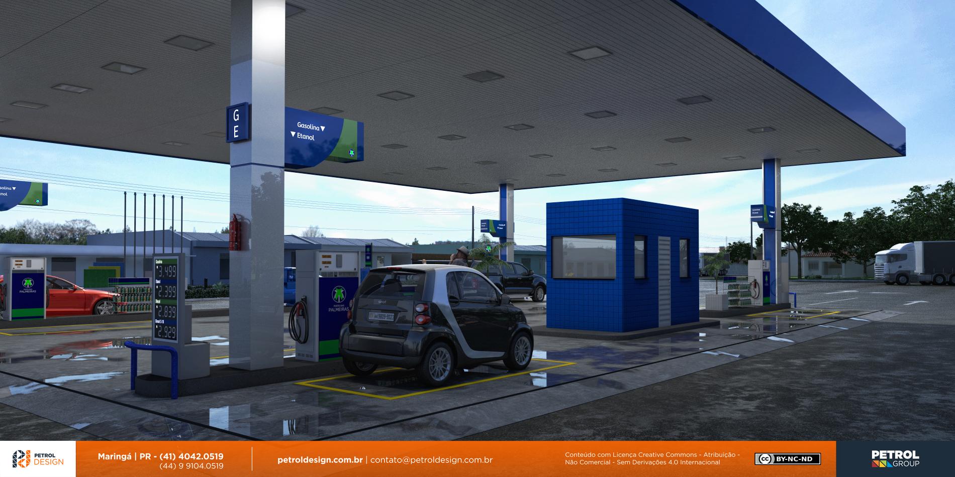 projeto para montar um posto combustivel Niquelandia GO
