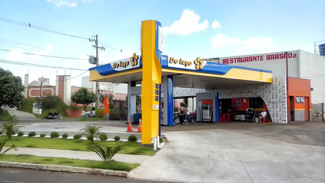 testeira posto de combustivel Campos dos Goytacazes RJ