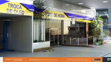 identidade visuale marca posto de combustivel Santo Andre SP