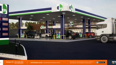 manual de identidade visual posto de gasolina Goioere PR