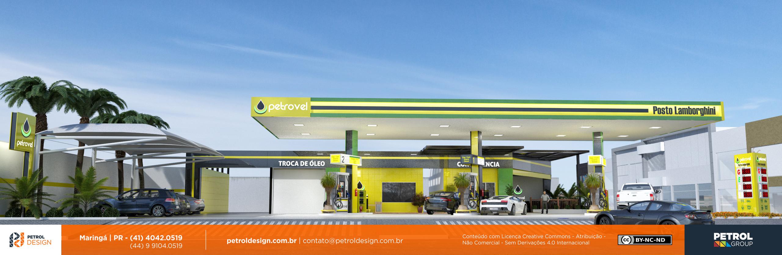 projeto posto de combustivel Pirapora MG
