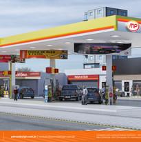 manual identidade visual posto de gasolina Itapecerica da Serra SP