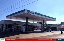 Reforma posto de gasolina